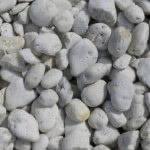 Cowra White 70-130mm Pebbles