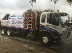12 Tonne-10 Pallet Crane Truck