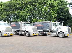 32-42Tonne Trucks - Sand4u trucking