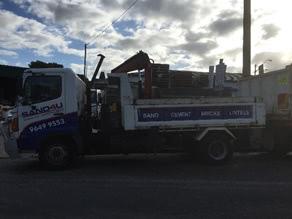 6 Tonne Tipper-Crane Truck